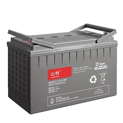 山特城堡C12V系列阀控式铅酸蓄电池C12-18AH~200AH